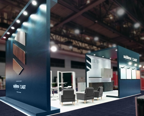 Custom-Booth-AGT-Wood-Design-Show-2019-3D-Logo