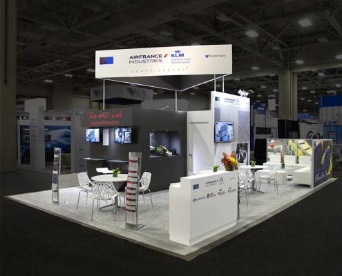 Booth Design | Stand d'exposition | MRO Show