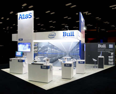 Booth Design | Stand d'exposition | Super Computing Show