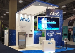 Custom-Booth-Atos-Bull-Super-Computing-2018