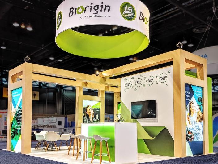 Custom-Booth-Biorigin-IFT-2018-Welcome-Area