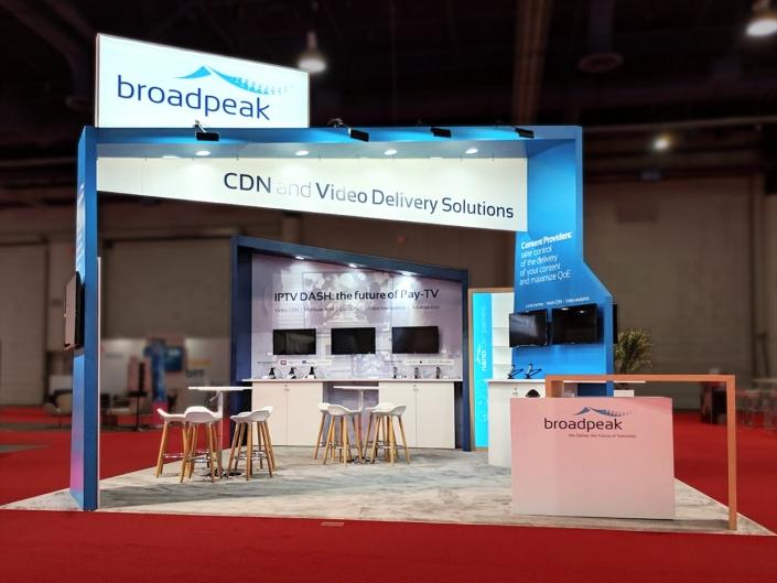 Stand-sur-Mesure-Broadpeak-NAB-2019-Kiosque