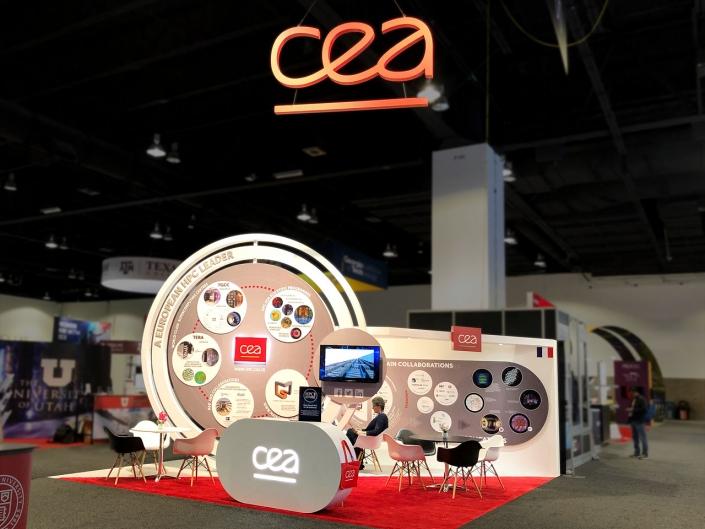 Stand-sur-Mesure-CEA-Super-Computing-2019-Kiosque