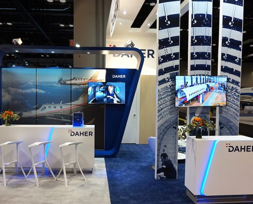 Booth Design | Stand d'exposition | NBAA Show