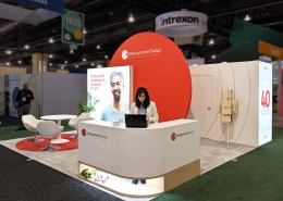 Custom-Booth-Debiopharm-BIO-International-2019-Reception-Desk