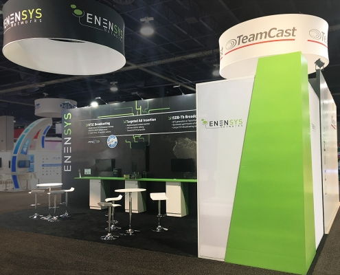 Custom-Booth-Enensys-Teamcast-Testtree-NAB-2018-Enensys-Booth-Contact