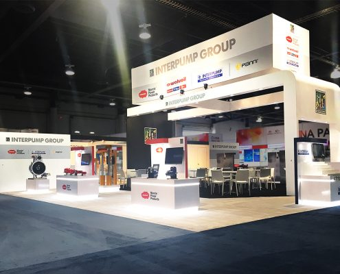 Custom-Booth-Interpump-Conexpo-2017-Large-Booth