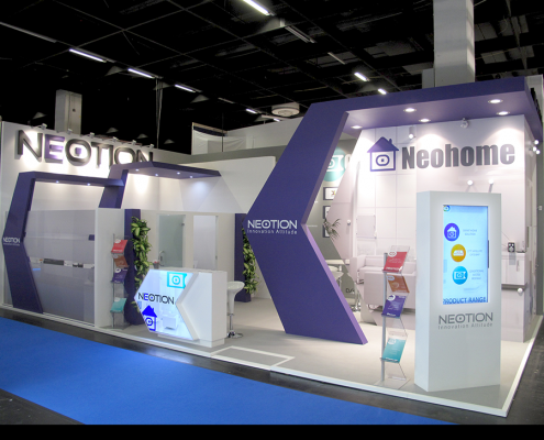 Booth Design | Stand d'exposition | ANGA COM Show
