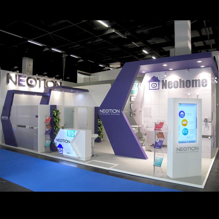 Booth Design | Stand d'exposition | ANGA COM Show