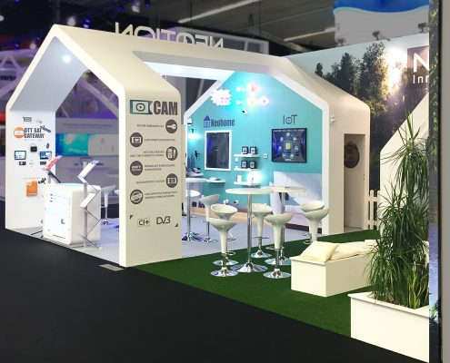 Booth Design | Stand d'exposition | IBC Show
