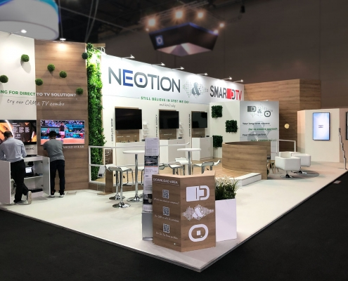 Stand-sur-Mesure-Neotion-IBC-2019-Reception