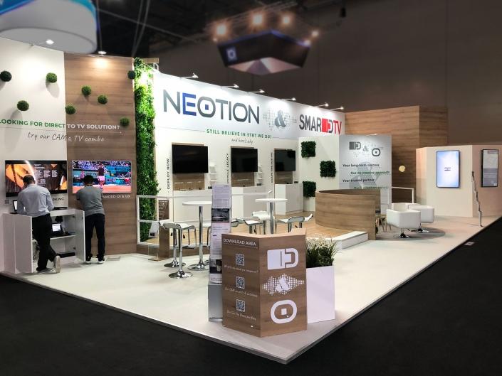 Stand-sur-Mesure-Neotion-IBC-2019-Reception