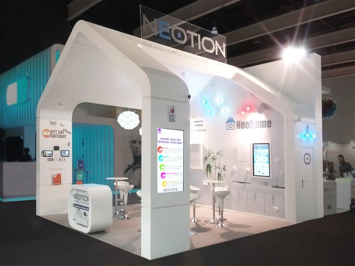Booth Design | Stand d'exposition | Mobile World Congress Show