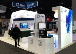 Custom-Booth-One-Stop-Systems-Super-Computing-Show-2019-Podium