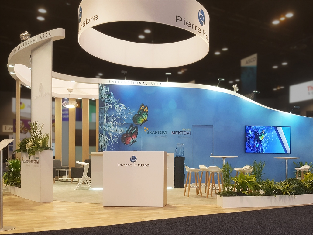 Custom-Booth-Pierre-Fabre-Asco-2019