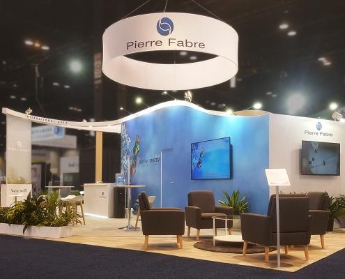 Custom-Booth-Pierre-Fabre-Asco-2019-Meeting-Area