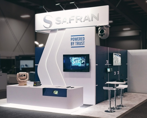 Custom-Booth-Safran-Cansec-2019-Reception-Desk