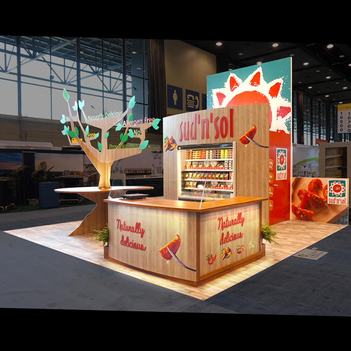 Booth Design | Stand d'exposition | National Restaurant Association Show